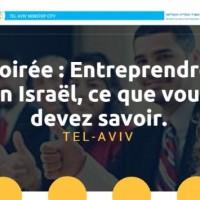 Soirée Entreprendre en Israël le 9/5